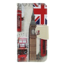 Engeland Booktype Hoesje Samsung Galaxy A7 2018