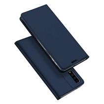 Dux Ducis Booktype Hoesje Samsung Galaxy A7 2018 - Donker Blauw