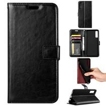 Booktype Hoesje Samsung Galaxy A7 2018 - Zwart