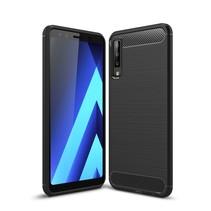 TPU Hoesje Samsung Galaxy A7 2018 - Zwart