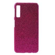 Glitters Hardcase Hoesje Samsung Galaxy A7 2018 - Roze