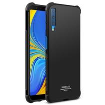 Imak TPU Hoesje Samsung Galaxy A7 2018 - Zwart