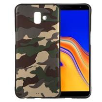 Camouflage TPU Hoesje Samsung Galaxy J6 Plus - Groen