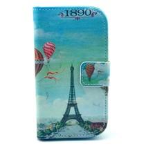 Eiffeltoren Booktype Hoesje Samsung Galaxy Trend 2