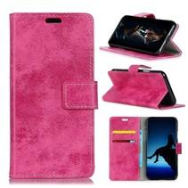 Booktype Hoesje Sony Xperia XZ3 - Roze