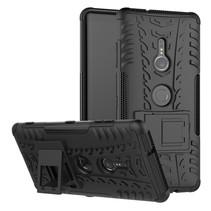 Hybrid Hoesje Sony Xperia XZ3 - Zwart