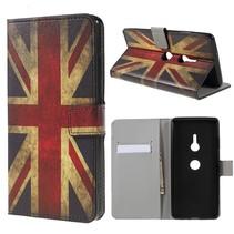 Britse Vlag Booktype Hoesje Sony Xperia XZ3