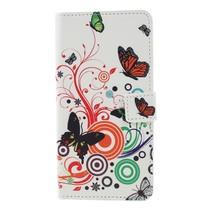 Vlinders Booktype Hoesje Sony Xperia XZ3