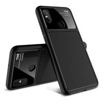 Lenuo t Hoesje Xiaomi Mi 8 - Zwart