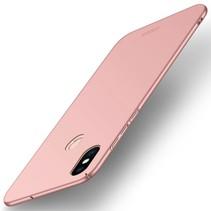 Mofi Hardcase Hoesje Xiaomi Mi 8 - Roze / Goud