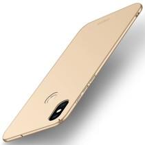 Mofi Hardcase Hoesje Xiaomi Mi 8 - Goud