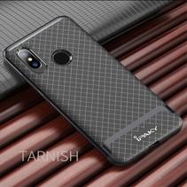Ipaky Hybrid Hoesje Xiaomi Mi 8 - Zwart