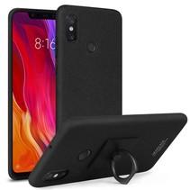 Imak Hardcase Hoesje Xiaomi Mi 8 - Zwart