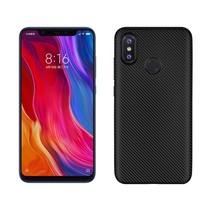 TPU Hoesje Xiaomi Mi 8 - Zwart