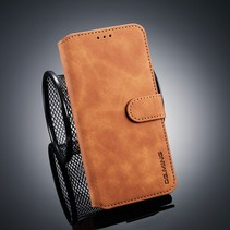 Dg.Ming Booktype Hoesje Xiaomi Mi 8 - Bruin