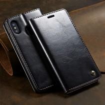 Caseme Booktype Hoesje Xiaomi Mi 8 - Zwart