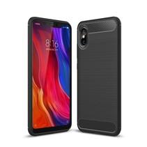 TPU Hoesje Xiaomi Mi 8 Explorer - Zwart