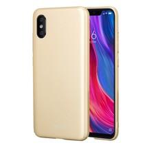 Lenuo Hardcase Hoesje Xiaomi Mi 8 Explorer - Goud