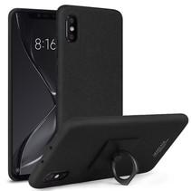 Imak Hardcase Hoesje Xiaomi Mi 8 Explorer - Zwart