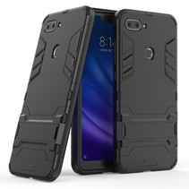 Hybrid Hoesje Xiaomi Mi 8 Lite - Zwart