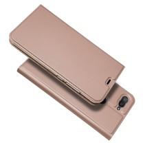 Booktype Hoesje Xiaomi Mi 8 Lite - Roze / Goud