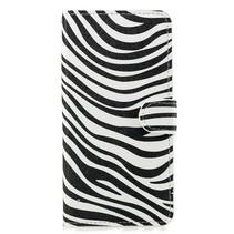 Zebra Booktype Hoesje Xiaomi Mi 8 Lite