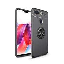 Lenuo TPU Hoesje Xiaomi Mi 8 Lite - Zwart