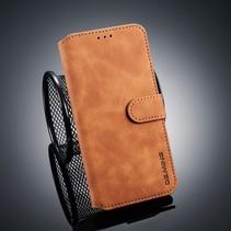 Dg.Ming Booktype Hoesje Xiaomi Mi 8 Lite - Bruin