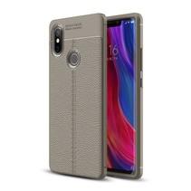 Litchee TPU Hoesje Xiaomi Mi 8 SE - Grijs