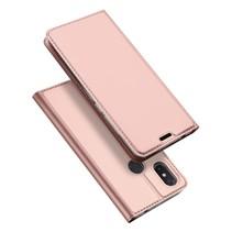 Dux Ducis Booktype Hoesje Xiaomi Mi 8 SE - Roze / Goud