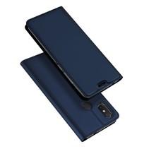 Dux Ducis Booktype Hoesje Xiaomi Mi 8 SE - Donker Blauw