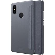 Nillkin Booktype Hoesje Xiaomi Mi 8 SE - Zwart