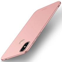 Mofi Hardcase Hoesje Xiaomi Mi 8 SE - Roze / Goud