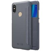 Nillkin Booktype Hoesje Xiaomi Mi A2 - Zwart