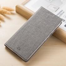 Vilidmx Booktype Hoesje Xiaomi Mi A2 - Grijs