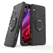 Hybrid Hoesje Xiaomi Mi A2 - Zwart