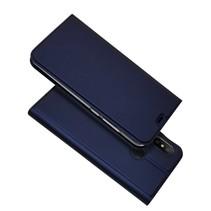 Booktype Hoesje Xiaomi Mi A2 Lite - Donker Blauw
