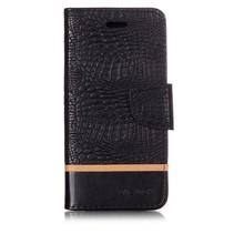 Krokodillen Booktype Hoesje Xiaomi Mi A2 Lite - Zwart