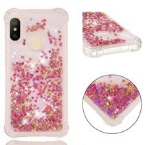 TPU Hoesje Xiaomi Mi A2 Lite - Roze / Goud
