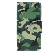 Camouflage Booktype Hoesje Xiaomi Mi A2 Lite