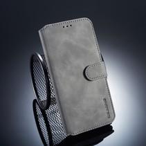 Dg.Ming Booktype Hoesje Xiaomi Mi A2 Lite - Grijs