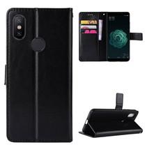 Booktype Hoesje Xiaomi Mi A2 Lite - Zwart