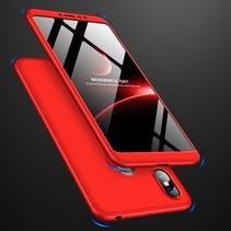 Gkk Hardcase Hoesje Xiaomi Mi Max 3 - Rood