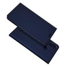 Booktype Hoesje Xiaomi Mi Max 3 - Donker Blauw