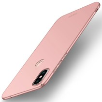 Mofi Hardcase Hoesje Xiaomi Mi Mix 2s - Roze / Goud
