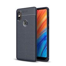 Litchee TPU Hoesje Xiaomi Mi Mix 2s - Donker Blauw
