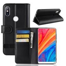 Booktype Hoesje Xiaomi Mi Mix 2s - Zwart
