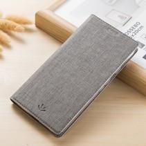 Vilidmx Booktype Hoesje Xiaomi Mi Mix 2s - Grijs