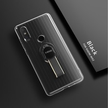 X-level Hybrid Hoesje Xiaomi Mi Mix 2s - Zwart