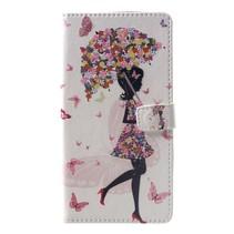 Paraplu Meisje Booktype Hoesje Xiaomi Pocophone F1